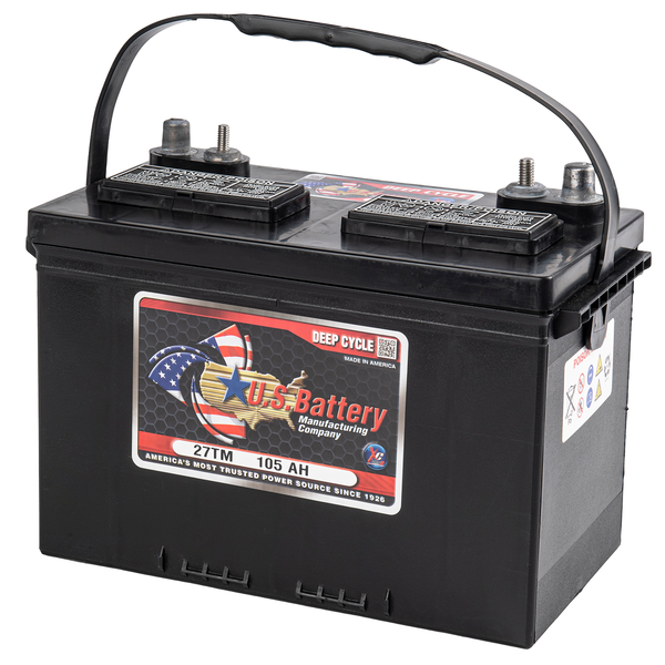 12 volt 105 ah type 27DC Deep Cycle accu van US Battery