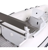 Talamex 2-persoons Silverline RIB console, los monteerbaar