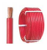 Accukabel 25 mm² rood