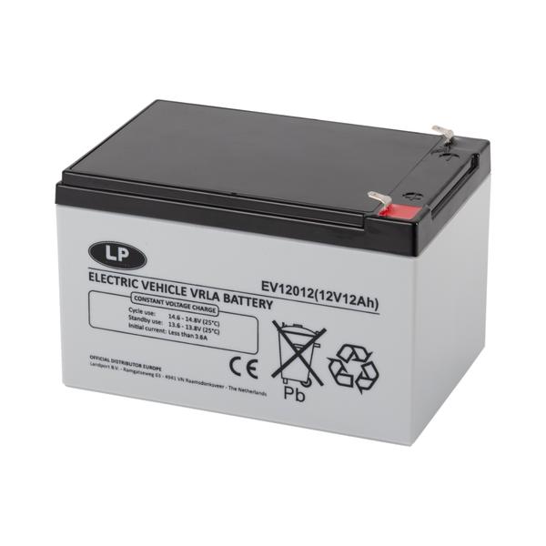 EV12012 accu 12 volt 12 ah Electric Vehicle VRLA Battery