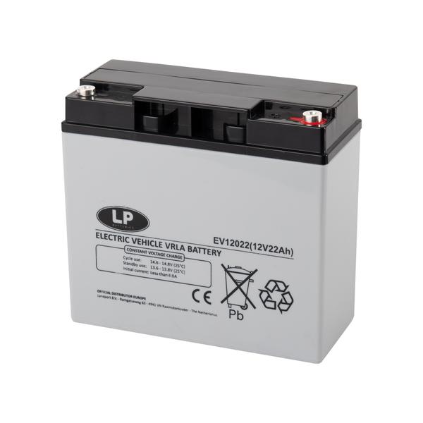 EV12022 accu 12 volt 22 ah Electric Vehicle VRLA Battery