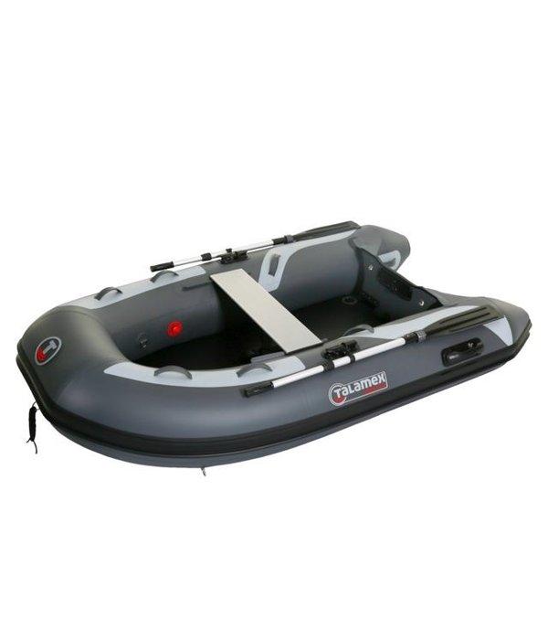Talamex Highline airdeck HLA 250 storm-grijs rubberboot