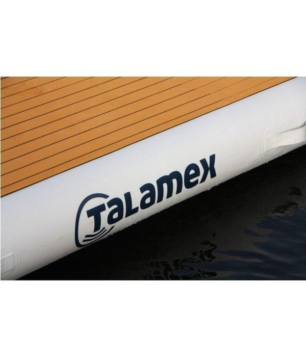 Talamex Air-Dock opblaasbaar platform 4 x 2 meter