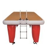 Talamex Aluminium 4-traps zwemtrap voor Air-Dock