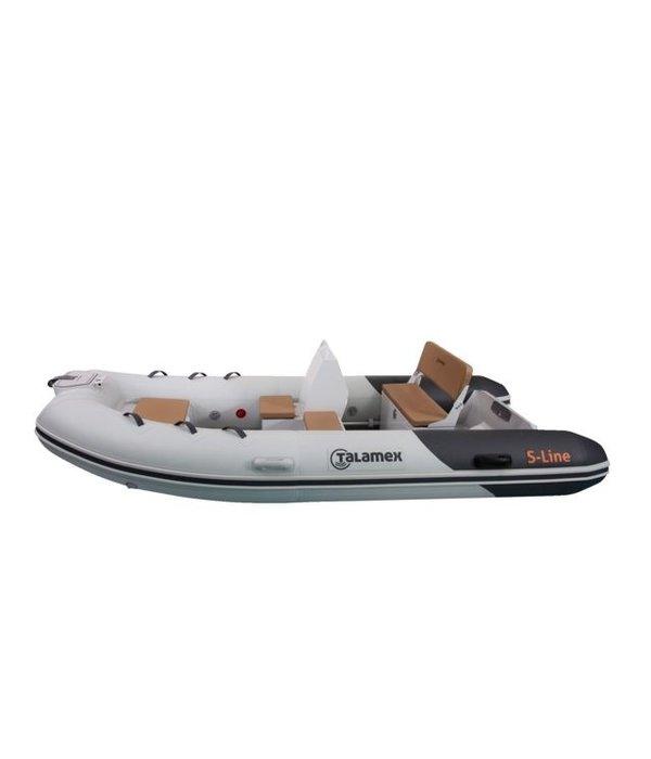 Talamex S-Line 380 RIB boot met aluminium bodem