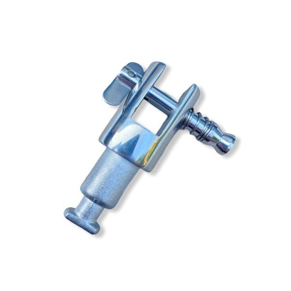 RVS bimini houder voor plakhouder zonder roeidol