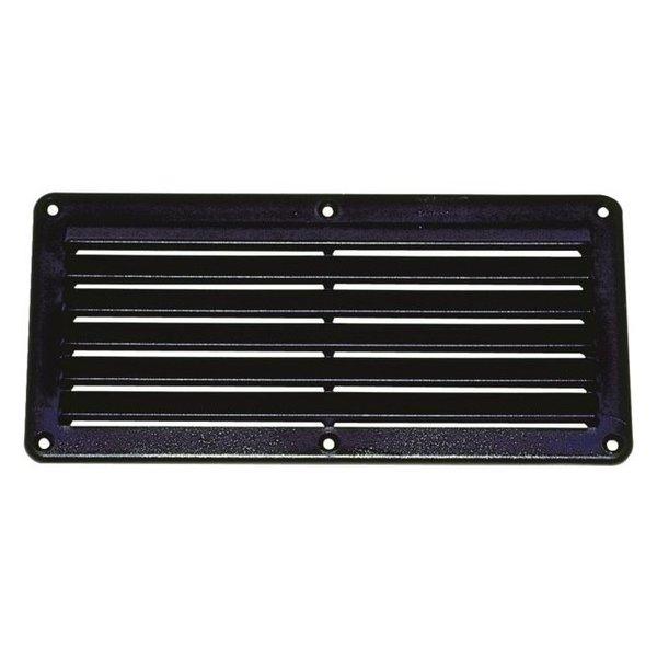 ABS ventilatierooster zwart 261 mm x 125 mm
