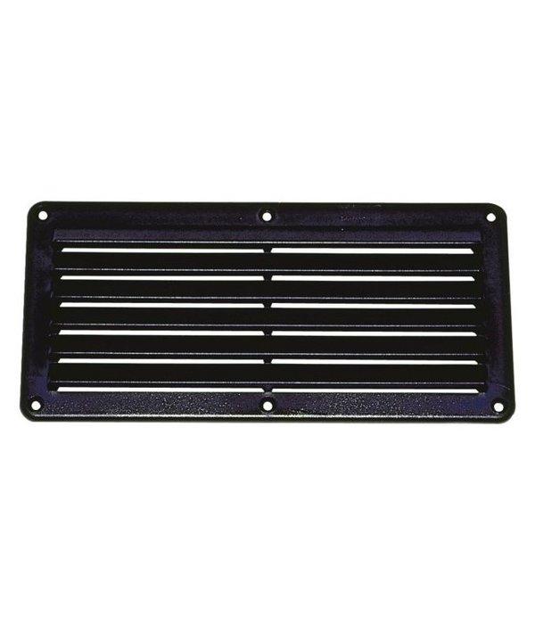 Talamex ABS ventilatierooster zwart 261 mm x 125 mm