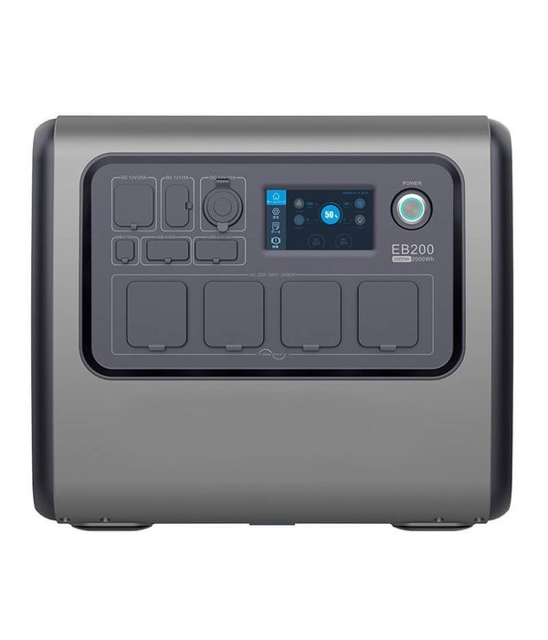 LP EB200 Draagbare Energy  Stroomgenerator 2000Wh