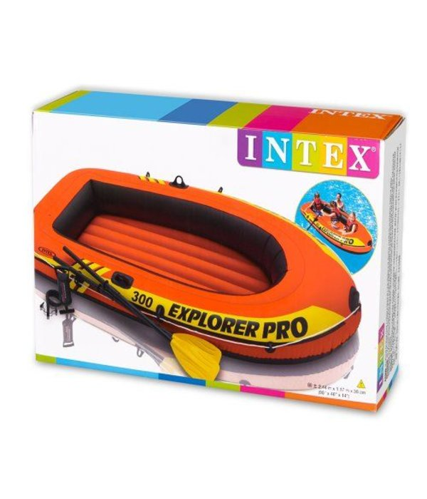 Intex Opblaasboot Explorer PRO 300 Set driepersoons