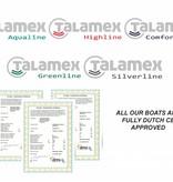 Talamex Silverline 310 RIB boot met aluminium bodem