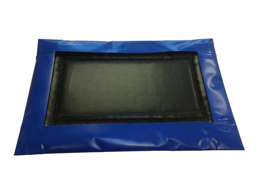 Desinfektionsmatte 90 x 60 x 4 cm inkl. Wasserdichtem Anti-Rutsch-Bezug