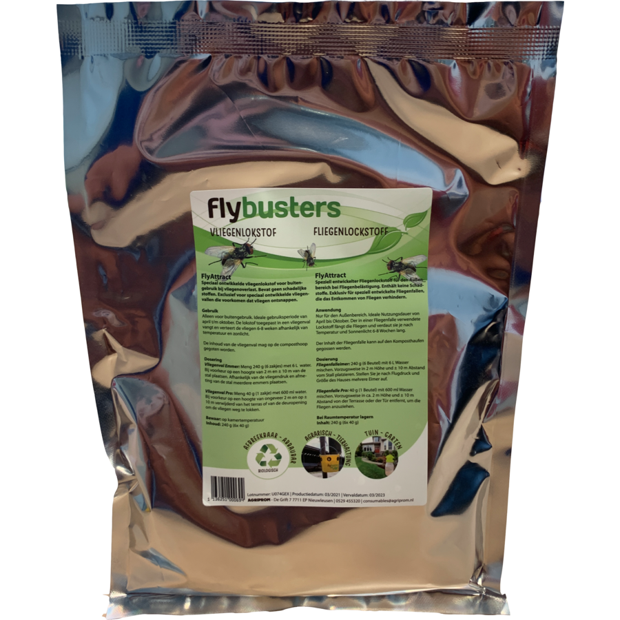 Flybuster Füllung 240 g (6 x 40 g)-3