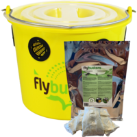 thumb-FlyBuster Professional Fliegenfalle - inkl. Füllung-1