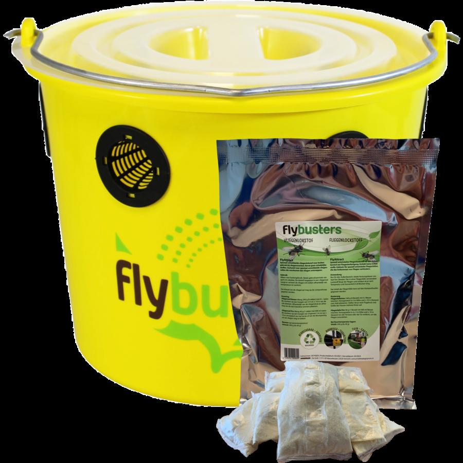 FlyBuster Professional Fliegenfalle - inkl. Füllung-1