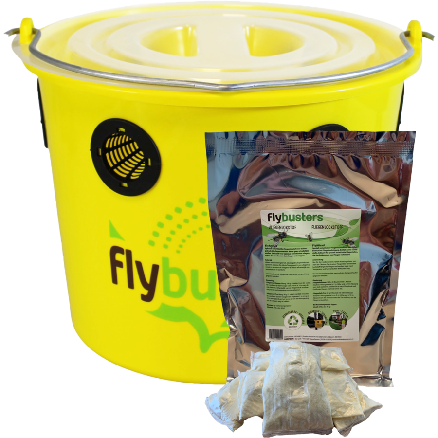 FlyBuster Professional Vliegenval - incl. 240 g vulling-1