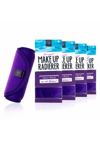 Celina Blush 10€ RABATT: Sparpaket MakeUp Radierer | 4-er Set (Lila)