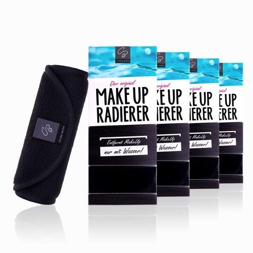 Celina Blush Limango-Deal: 4er-Set MakeUp Radierer (Schwarz)