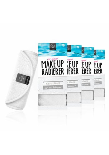 Celina Blush 10€ RABATT: Sparpaket MakeUp Radierer | 4-er Set  (Weiß)