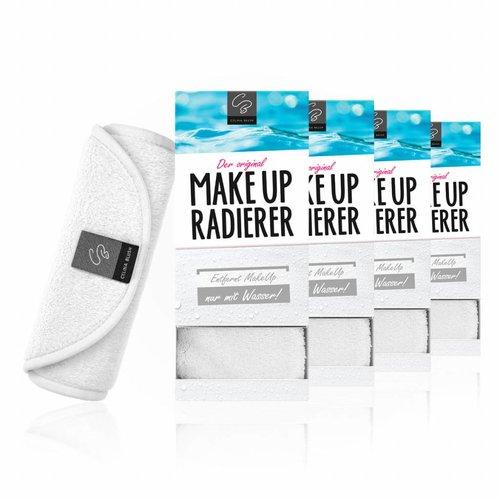 Celina Blush MakeUp Radierer | 4-er Set  (Weiß)