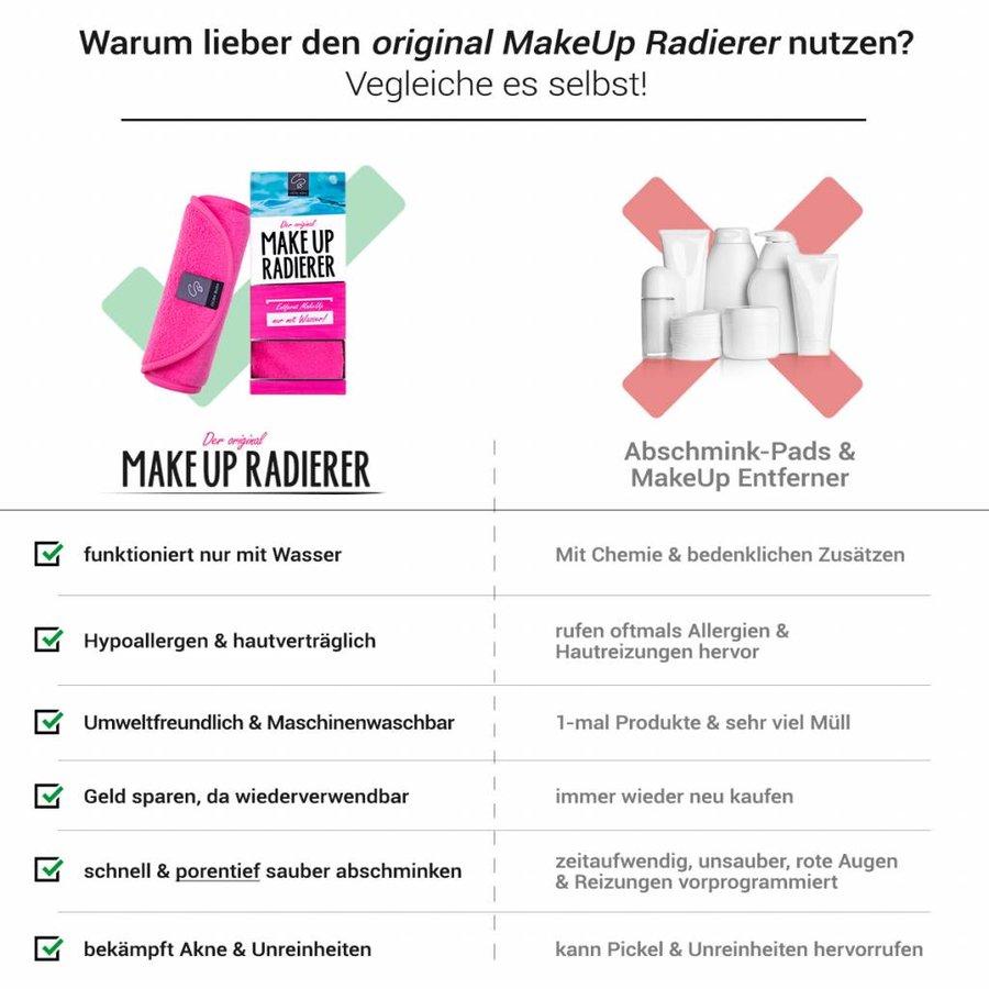 MakeUp Radierer   4-er Set (Pink)