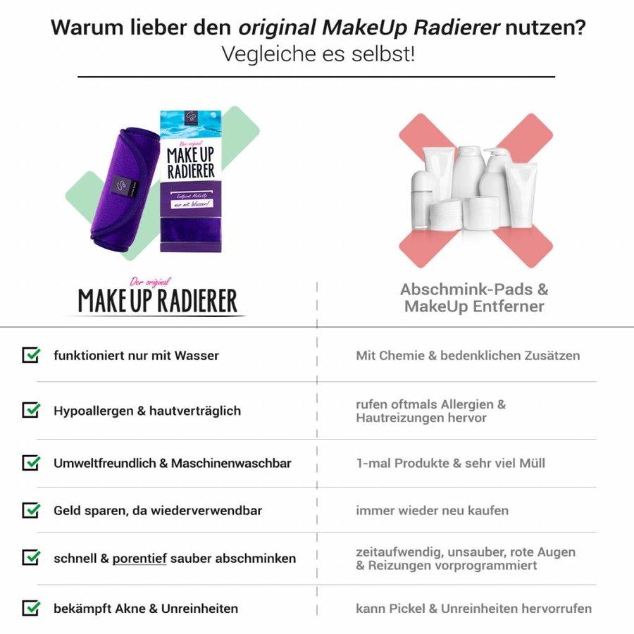 10€ RABATT: Sparpaket MakeUp Radierer | 4-er Set (Lila)