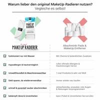 Limango-Deal: 2er-Set MakeUp Radierer (Weiß)