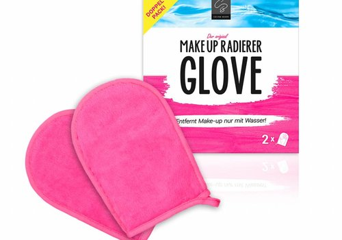 Celina Blush MakeUp Radierer GLOVE | 2-er Set (Pink)