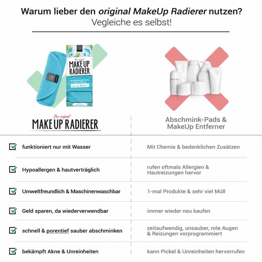 Limitierte Sommeredition! MakeUp Radierer (Blau)