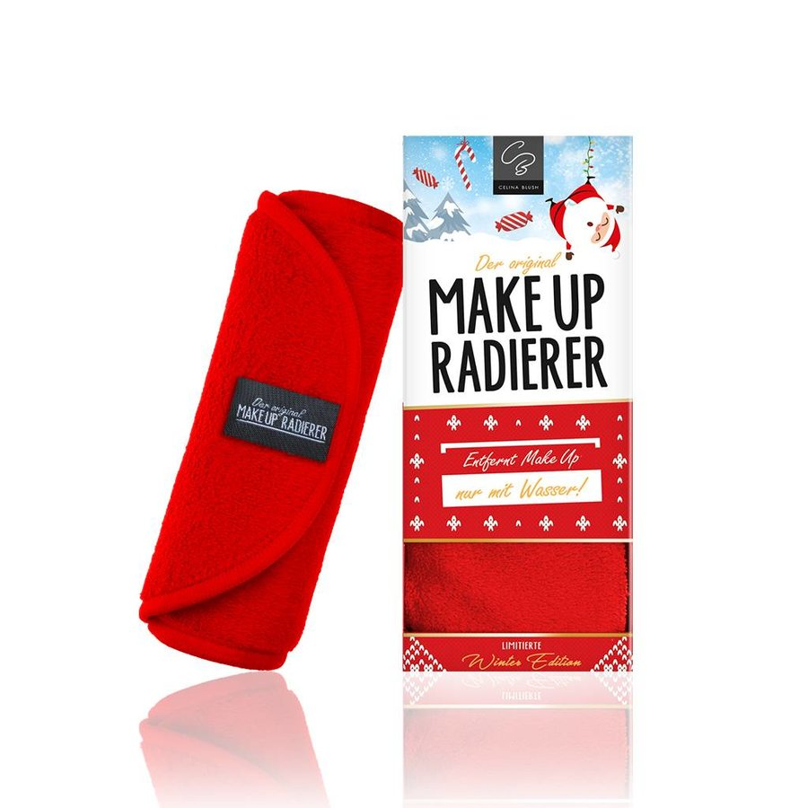 Limitierte Weihnachtsedition! MakeUp Radierer (Rot)