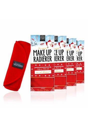 Celina Blush Limango-Deal: 4er-Set MakeUp Radierer (Rot)