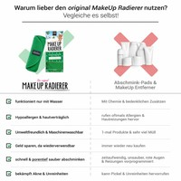 Limango-Deal: 2er-Set MakeUp Radierer (Grün)