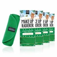 Limango-Deal: 4er-Set MakeUp Radierer (Grün)