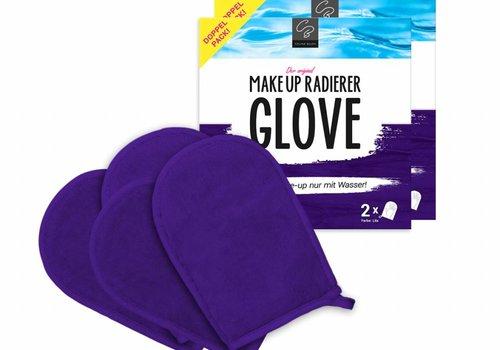 Celina Blush Limango-Deal: 2x 2er-Set MakeUp Radierer GLOVE (Lila)