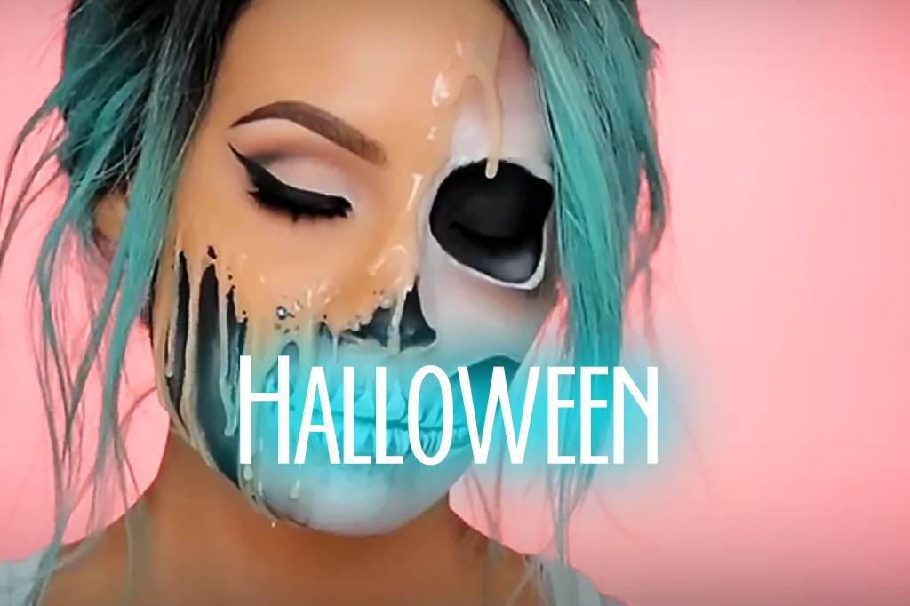 Wir zeigen dir die 20 besten Make-Up Ideen für Halloween 2018!