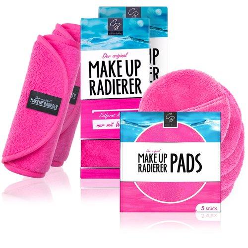 Celina Blush 10€ RABATT: Kombi-Deal: 2 MakeUp Radierer + 5er Set PADs (Pink)