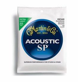 Martin & Co. Martin Acoustic - MSP 4600 - Phosphor Bronze - 12 Strings