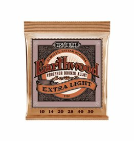 Ernie Ball Ernie Ball - Earthwood - Extra Light - 2150 - Phosphor Bronze