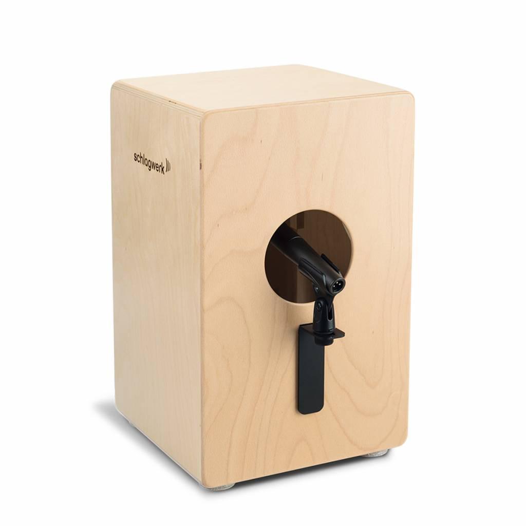 Schlagwerk Schlagwerk CMH10 Mikrofon-Adapterplatte für Cajon