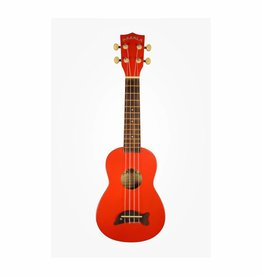 Makala Makala Candy Apple Red Soprano Dolphin Ukulele