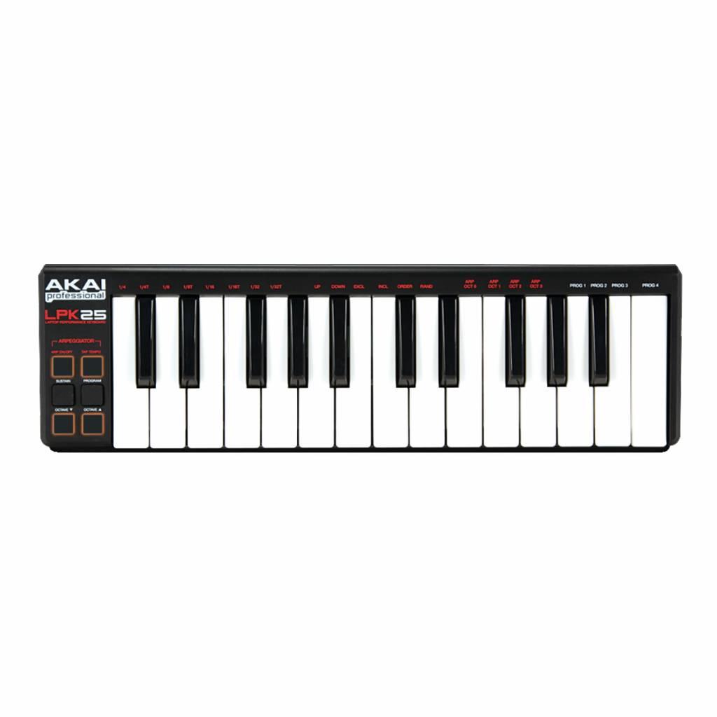 AKAI Akai LPK 25 Mini Kontroller Keyboard