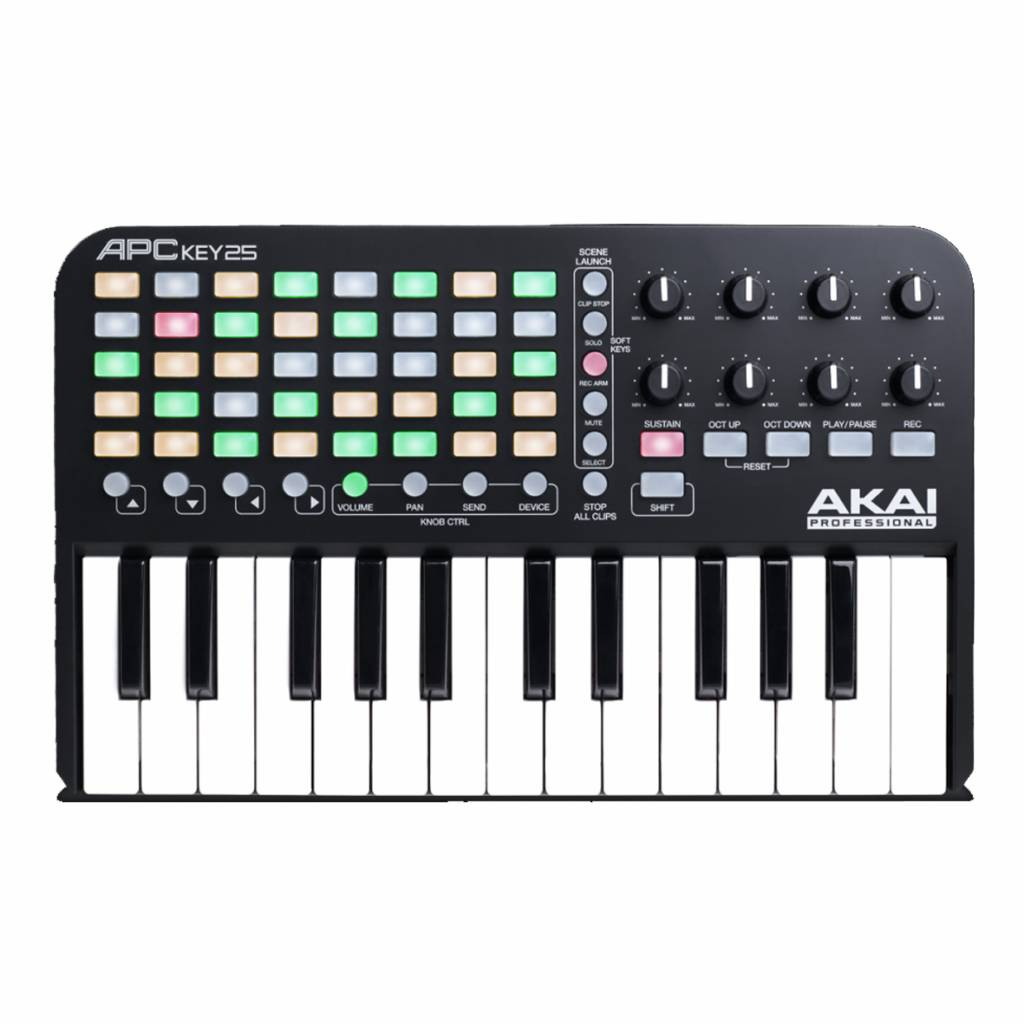 AKAI Akai APC Key 25 Mini Kontroller Keyboard