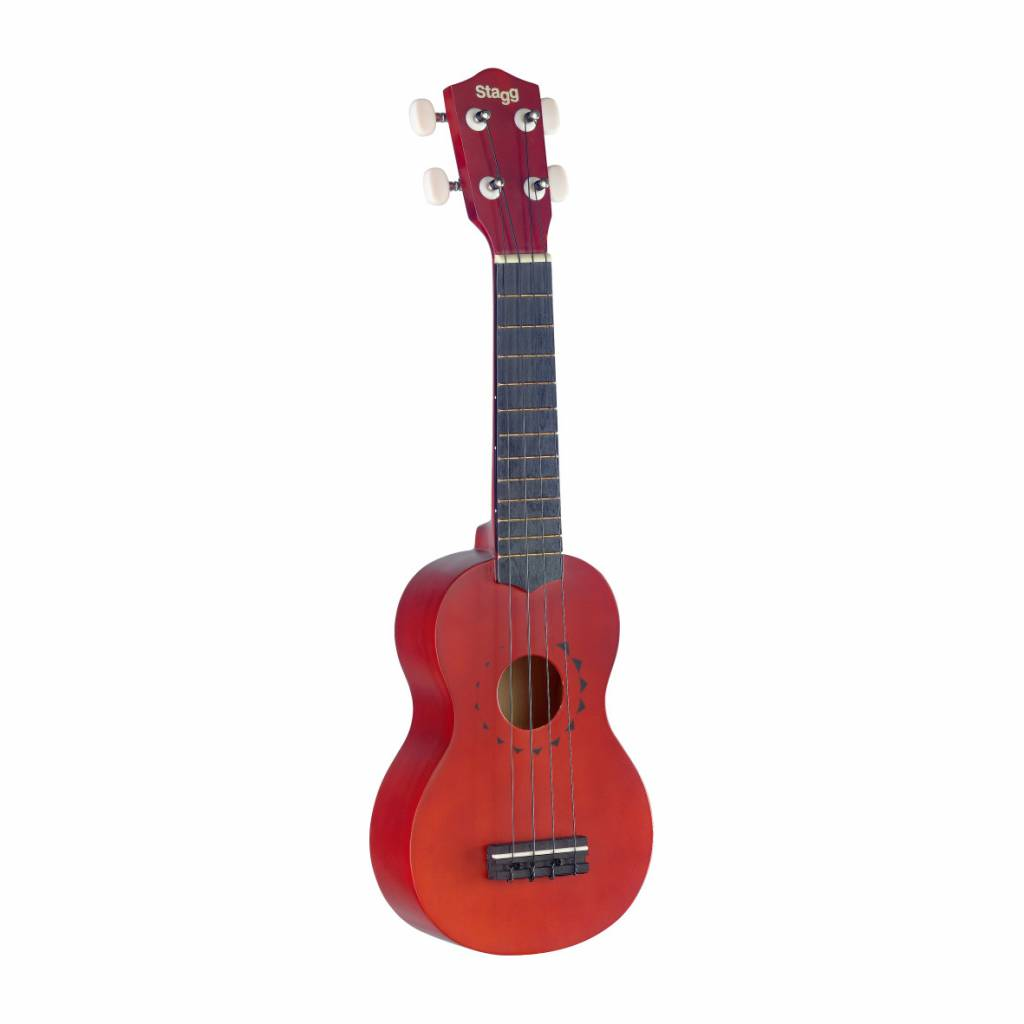 Stagg Stagg US 10 Tattoo Ukulele (inkl. Tasche)