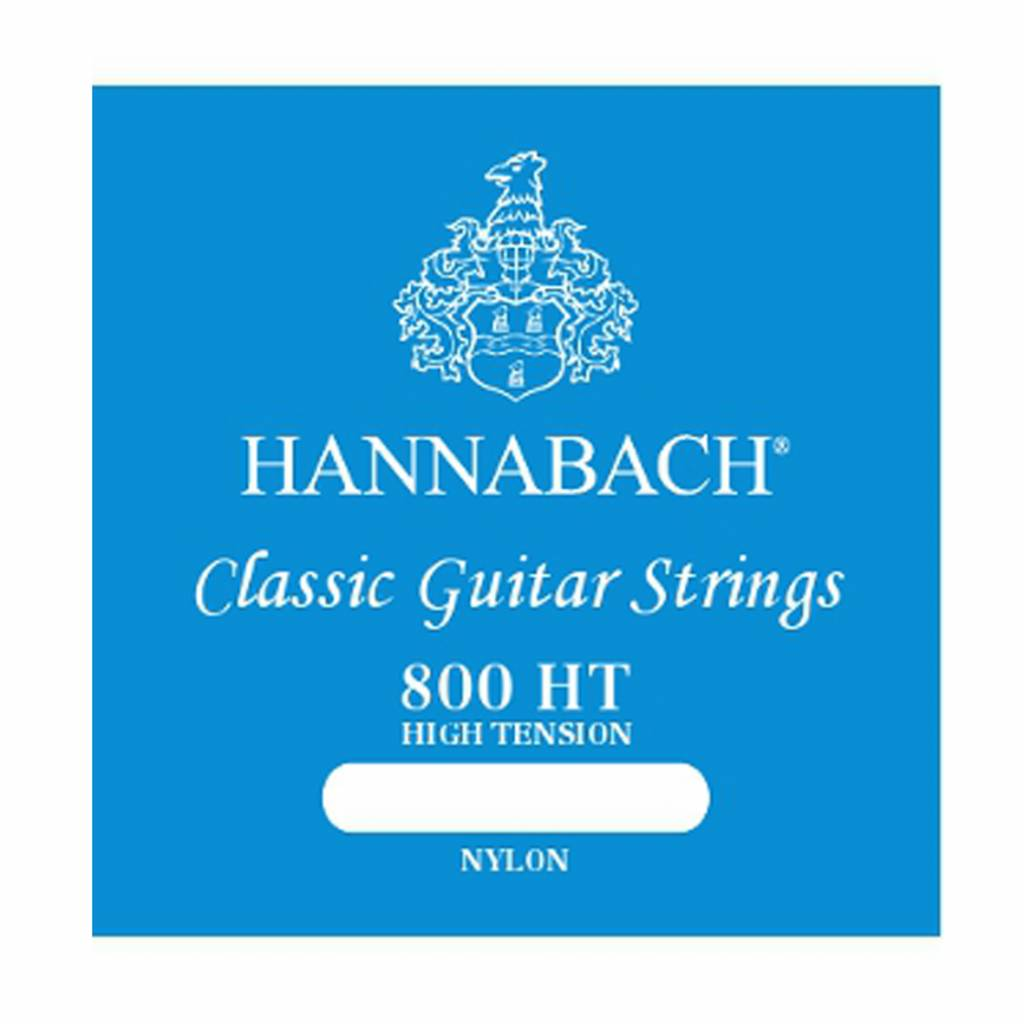 Hannabach Hannabach - 800 High Tension - Nylon Classic Guitar Strings