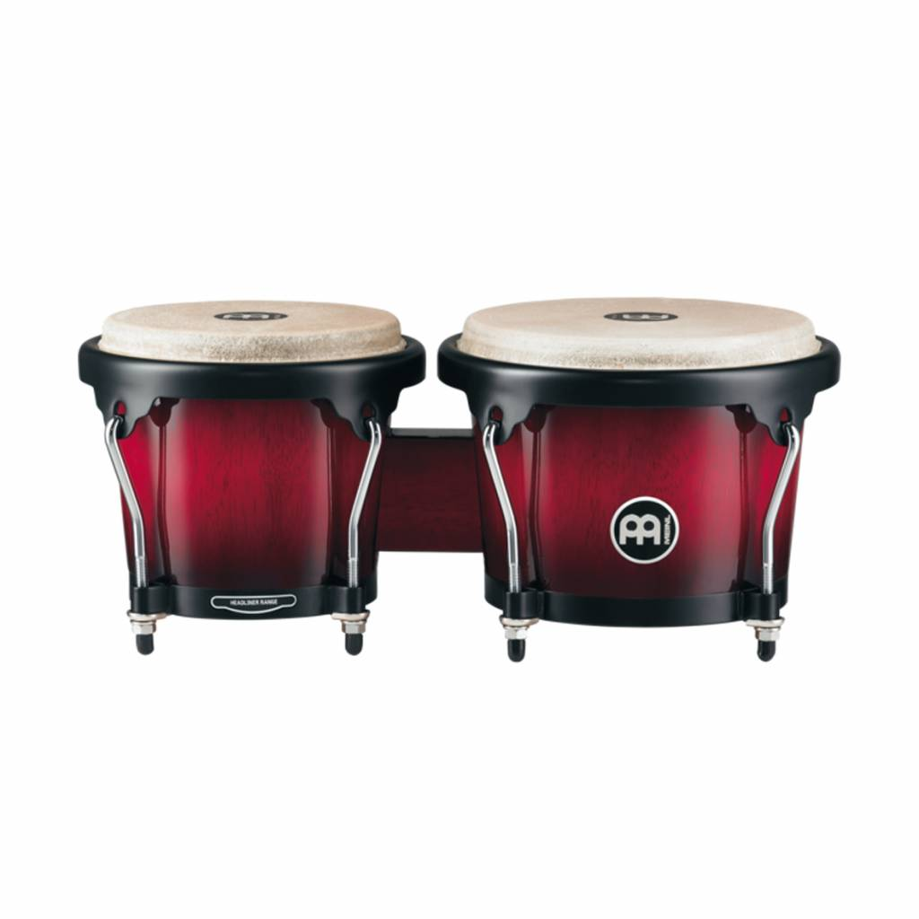 "Meinl Meinl HB100WRB Wine Red Burst  6 3/4"" Macho & 8"" Hembra"