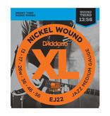 D'addario D'addario EJ22 Nickel Wound, Jazz Medium, 13-56