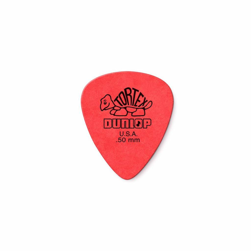 Dunlop Tortex Standard Picks red 0.50 mm