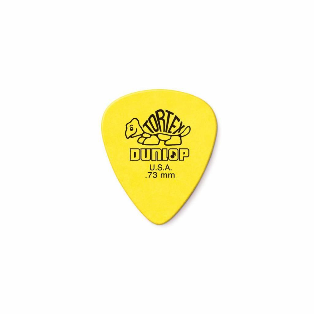 Dunlop Tortex Standard Picks yellow 0.73 mm