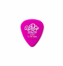 Dunlop Delrin 500 Standard Pick red magenta 1.14 mm
