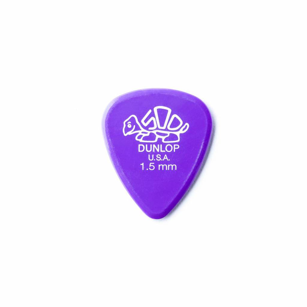 Dunlop Delrin 500 Standard Pick lavender purple 1.50 mm